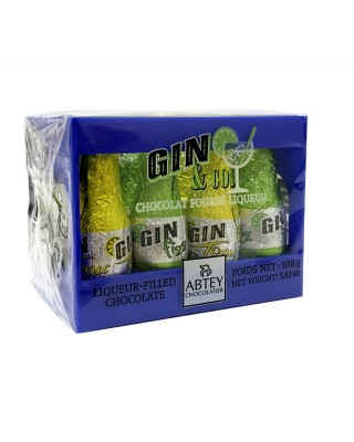 Gin & Co Crate Liqueurs Bottles
