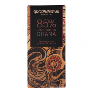 Amatller Ghana Origin - 85% Dark Chocolate