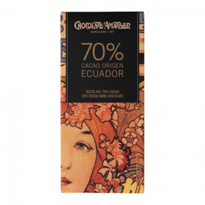 Amatller Ecuador Origin - 70% Dark Chocolate