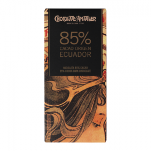 Amatller Equador Origin - 85% Dark Chocolate