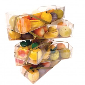 Assortment of Fruit shaped Almond Paste 33%