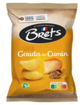 Brets Chips with Gouda Cheese & Cumin
