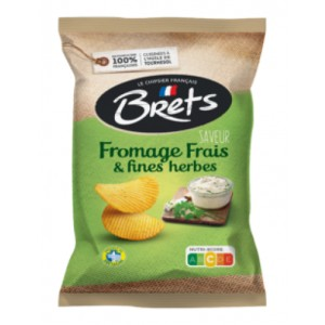 Fresh Cheese and Fine Herbs Brets Chips