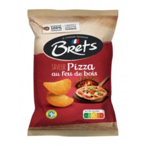 Brets Chips wood fire Pizza flavor