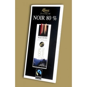 Origin Dark Chocolate 80% Criollo Klaus