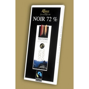 Dark Chocolate 72% Criollo Klaus