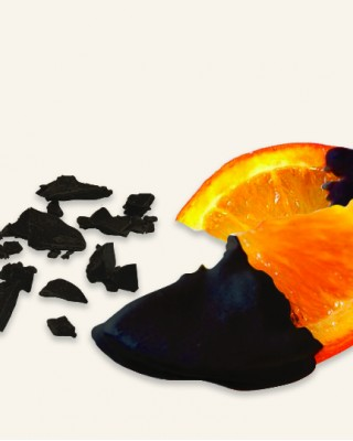 Candied Oranges dipped in 70% Dark Chocolate