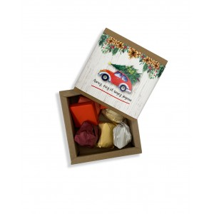 Christmas Car Chocolate Box - Small