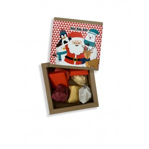 Santa Clause Chocolate Box - Small