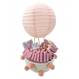Hot Air Balloon and Pompoms
