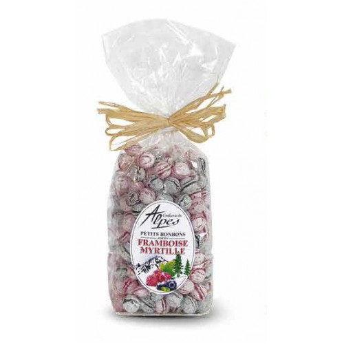 Blueberry & Raspberry sweets bag