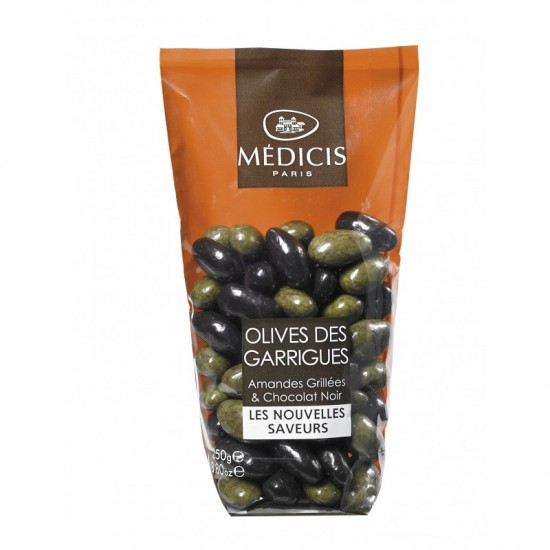 Olives de Garrigues Médicis Roasted almond and dark chocolate