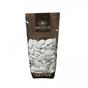 Dragées Médicis de Paris 70% Chocolate - White