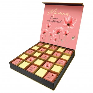 Spring Floral Mother's Day box of chocolates - 500g